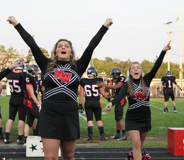 Cheerleaders controversy on uniforms