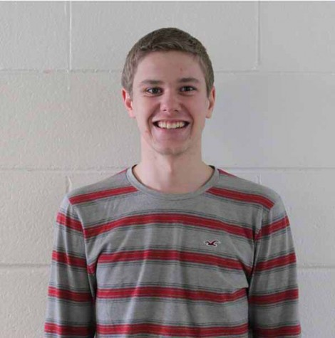 Senior Trevor Simons