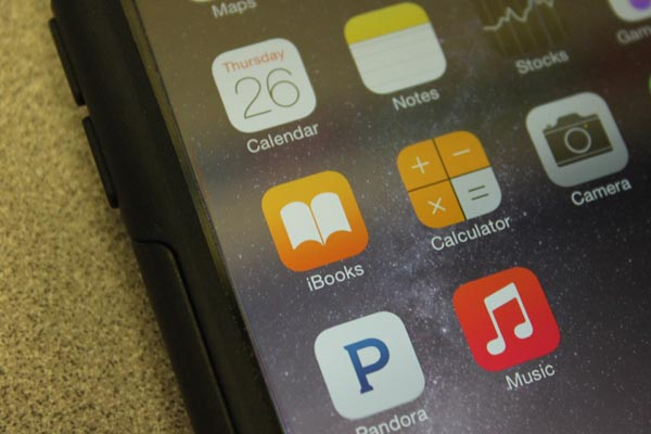 Digital reading through applications such as IBooks