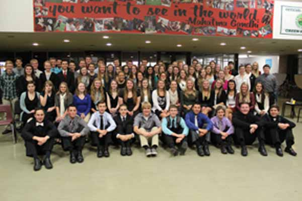 National Honor Society 2015.
