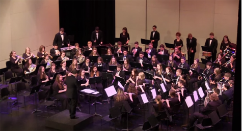 Wind Ensemble performs at Western High School
