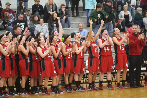 Varsity girls basketball finish with successful season