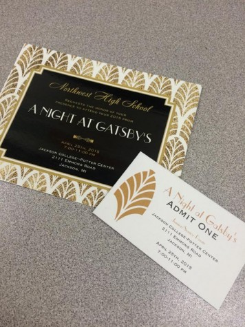 Tickets and Invitations to 2015 Prom