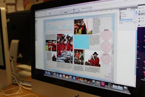 Yearbook captures memories while making them