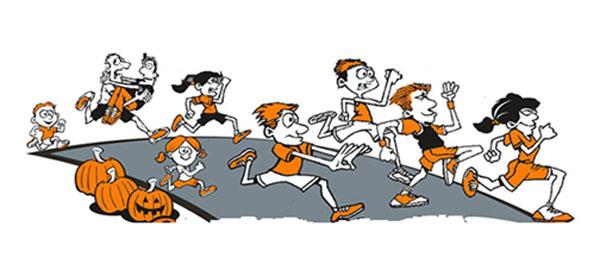 Spooky sprint for scholars