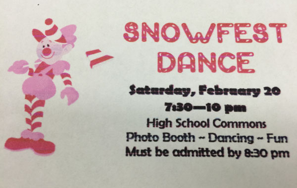 Snowfest theme Candyland, plans being finalized