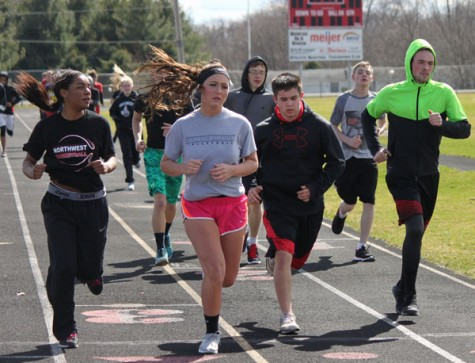 Gallery of track practice