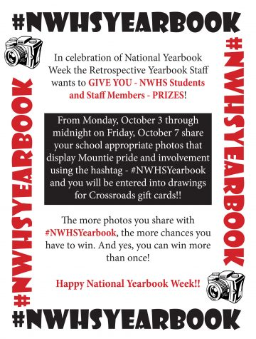 Yearbook gift card contest