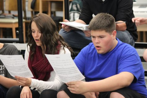Choirs prepare for fall concert