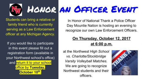 Northwest hosts honor an officer event