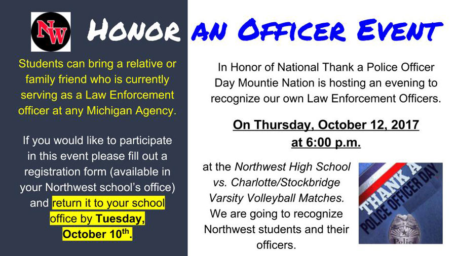 Northwest+hosts+honor+an+officer+event