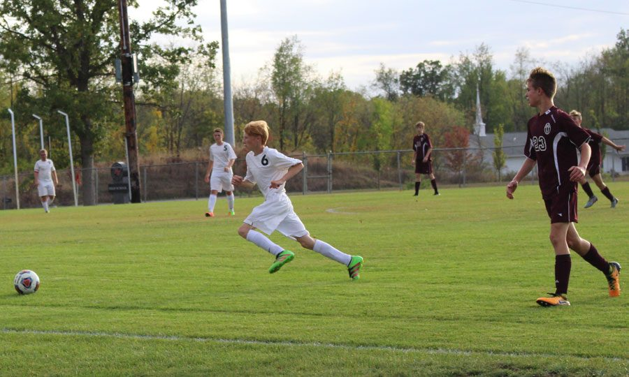 Boy's Soccer battles Western