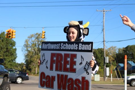 Marching Mounties' 13 annual car wash