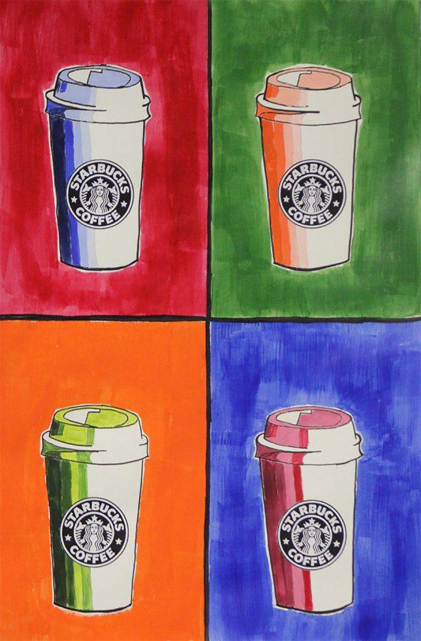 Starbucks Coffee by Lucy Nurkka