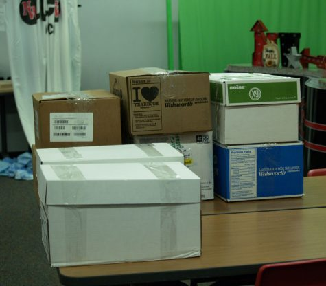 Instructor inspires students to collect supplies for those in need