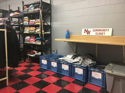 Community Closet helps students in need