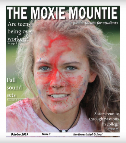 Check Out The Moxie Mountie Newspaper Issue #1