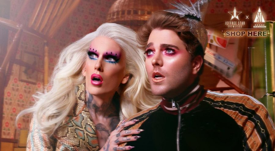 Jeffree+Star+and+Shane+Dawson+launch+drama